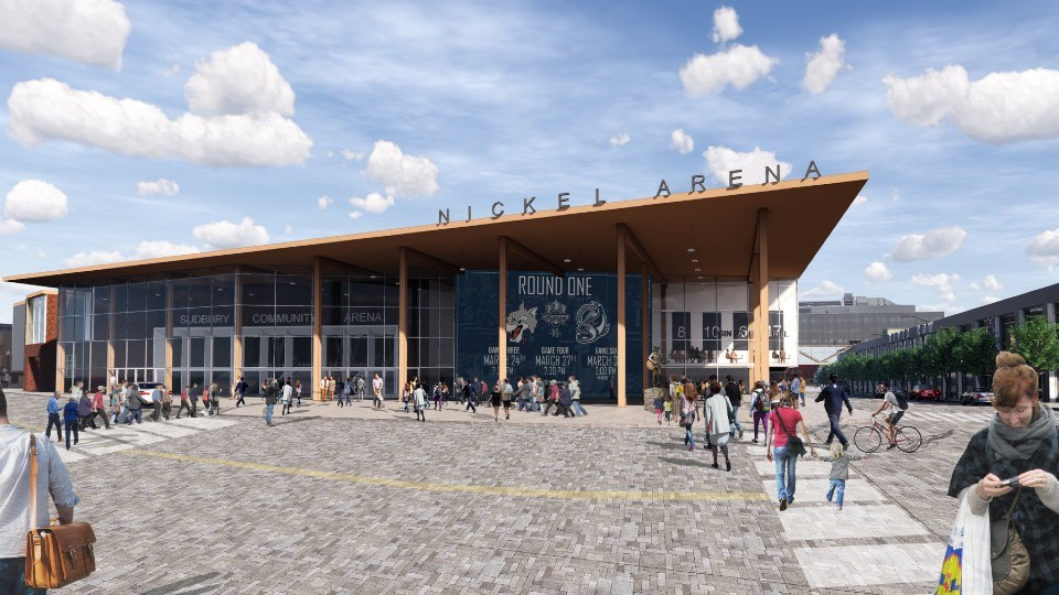 3rdLine.Studio has developed a new vision for the Sudbury Community Arena as part of what they have deemed Project NOW. (Supplied)