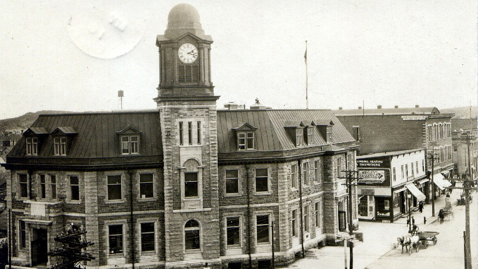 Sudbury's Former post office, corner of Elm and Durham streets, was designed by David Ewart, Canada's leading architect before the First World War.