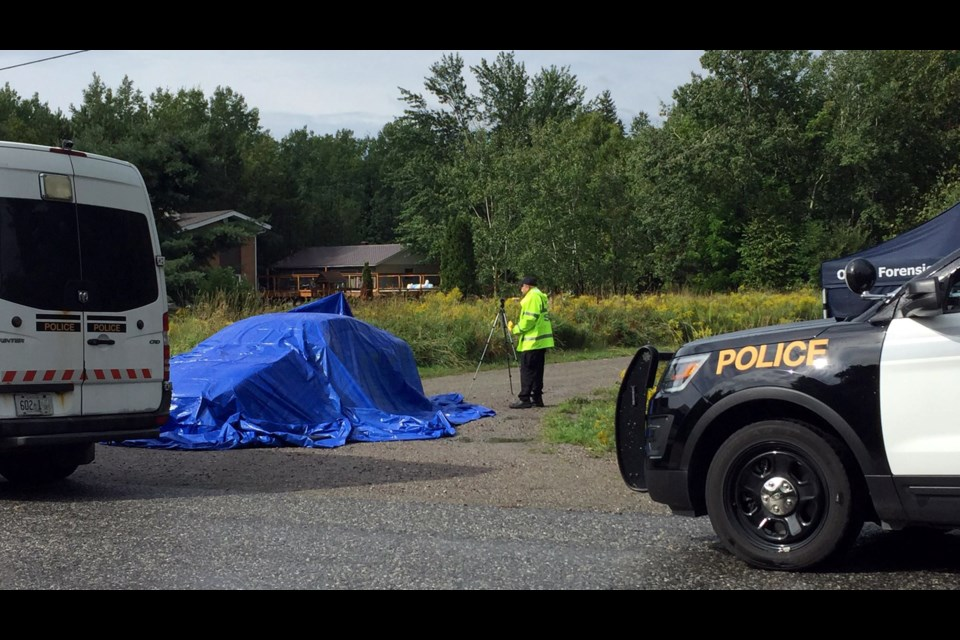 Ontario's police watchdog have cleared the West Nipissing Police Service in connection with an August 2018 shooting incident in Sturgeon Falls that ended in a murder and suicide. (Heather Green-Oliver/Sudbury.com)