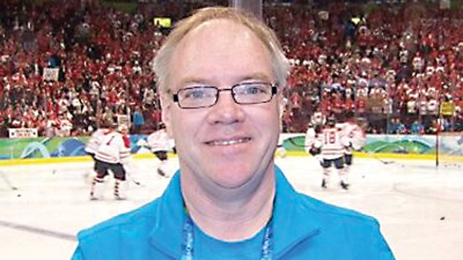 Sportswriter and talented scorekeeper Randy Pascal is working  his second Olympic Games, starting Feb. 9 when the PyeongChang games begin. (Supplied)