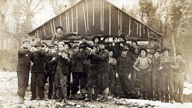 Every one of the railwaymen who spent the spring and summer of 1883 cutting lines for the CPR across the Nickel Basin's rocky outcrops, and on through the dense Algoma brush that covered them, were newcomers. It was a bit like Noah's Ark in fact. Among these men were representatives of Sudbury's now-iconic ethnic communities – a Finn, Pole, Ukrainian, Croatian, Italian – as well as Irish and Englishmen. Historical