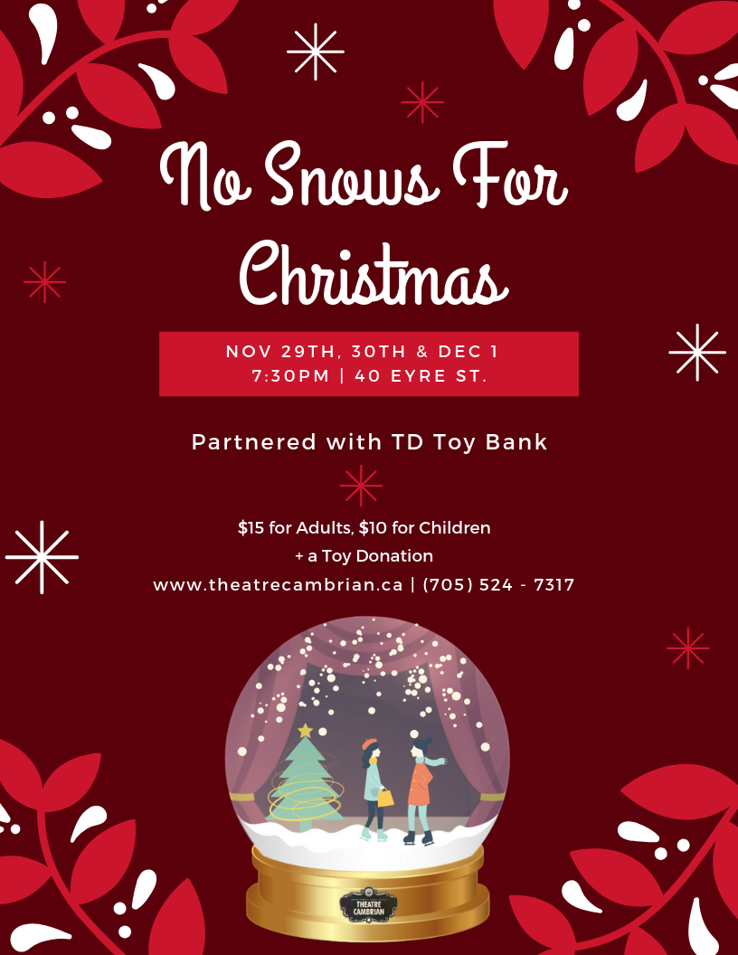 Td Bank Christmas Eve Hours.Theatre Cambrian Producing Christmas Play Written By Local