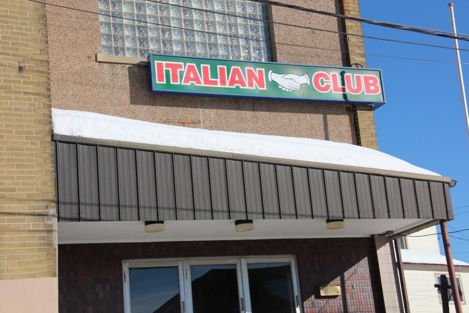 The Copper Cliff Italian Club celebrates its 85th birthday in 2020. (Heidi Ulrichsen/Sudbury.com)