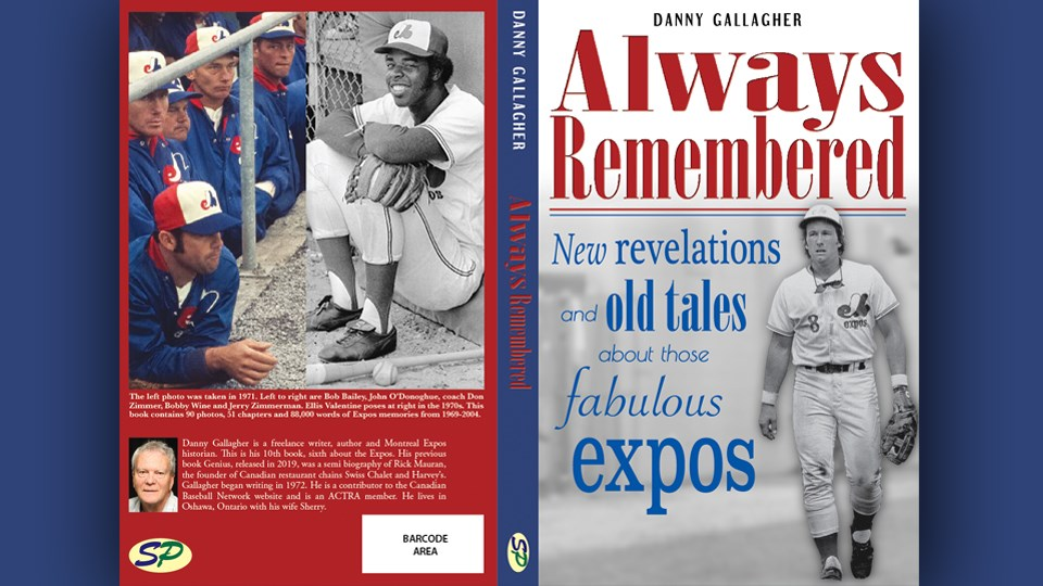 Danny Gallagher, a former Sudbury reporter, has penned his sixth book about the Montreal Expos. (Supplied)
