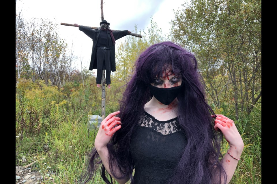 The Haunted Heights Trail is open every Friday and Saturday night in October (excluding Halloween night) from 8 p.m. to 11 p.m. and is located at 1764 Kathleen St. in Val Caron.(Heather Green-Oliver/Sudbury.com)