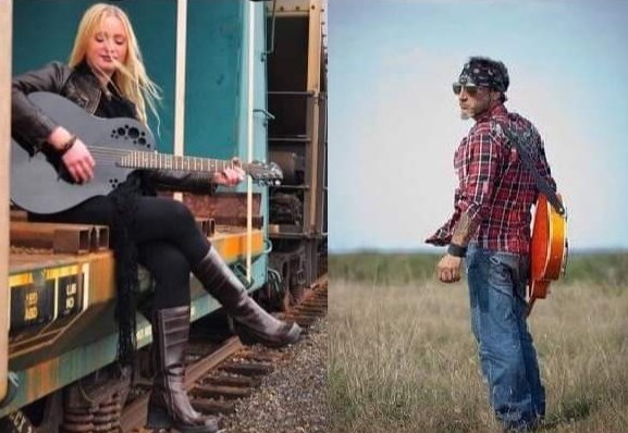 Nashville recording artist Joanne Pollack (JoPo) and blues/rock musician Johnny Williams will be performing tonight at the NORMHC New Year's Eve webcast. (Supplied)
