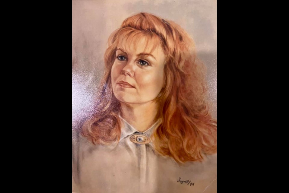 Ingrid Udeschini of Sudbury created these portraits of a young woman named Deb (also went by Debbie) in 1989. (Supplied)