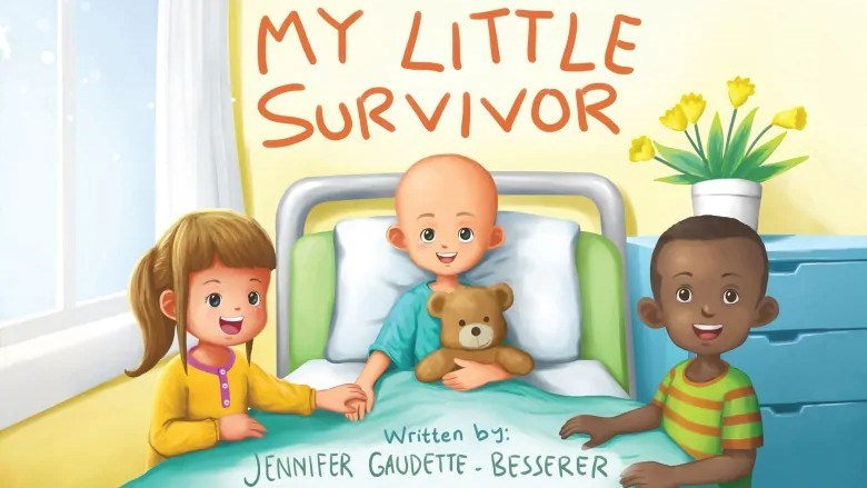 """You can purchase your copy of """"My Little Survivor"""" through pre-sale, either for your own use or to donate to a young cancer patient. (Supplied)"""