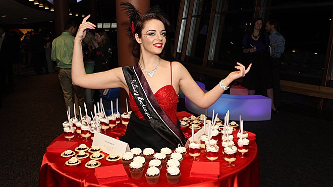 Known as the official Gala Ambassadors, Sudbury Burlesquepleased the senses with their beautiful costumes, sweet treats and sparkling personalities. Supplied photo.