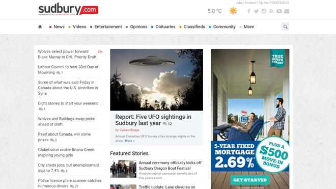 Sudbury.com claims title of best community website at OCNA awards
