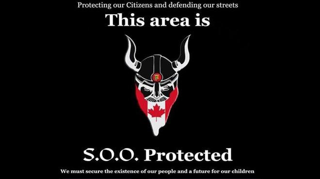 For a group that began just two years ago, the Soldiers of Odin has spread quickly across the globe, with chapters across Europe and North America. Here's a look at some of their posts from groups across the globe. (Supplied)