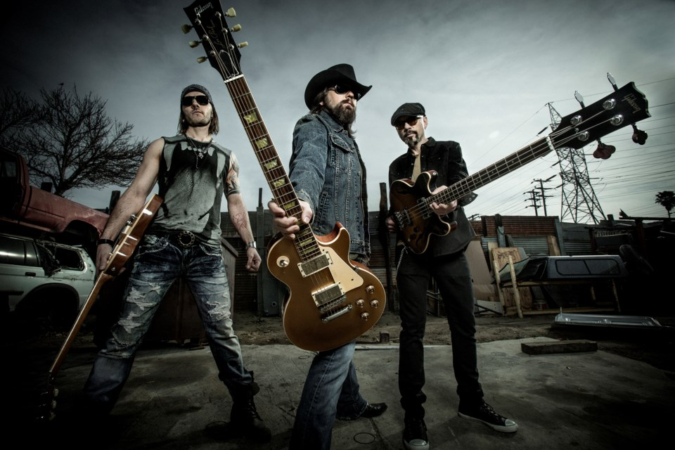 The Road Hammers have a new single coming out on April 9. Supplied photo