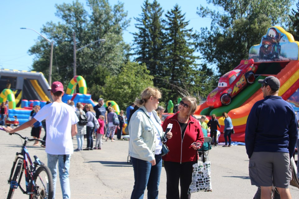 Crowds have been enjoying a bigger, improved Valley East Days over the weekend of Sept. 7-10, 2018. (Allana McDougall/Sudbury.com)