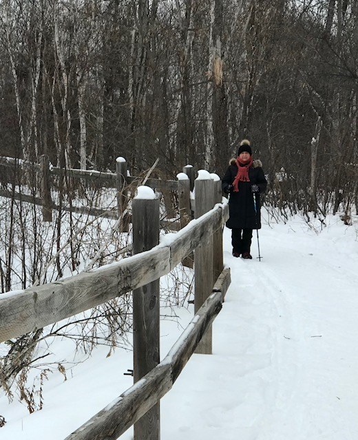 Exploring the New Sudbury Trail. Submitted by Linda Rossetto