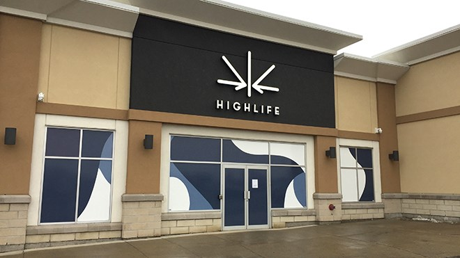Sudbury's second cannabis shop, Highlife, opens May 24 at 9 a.m. (File)