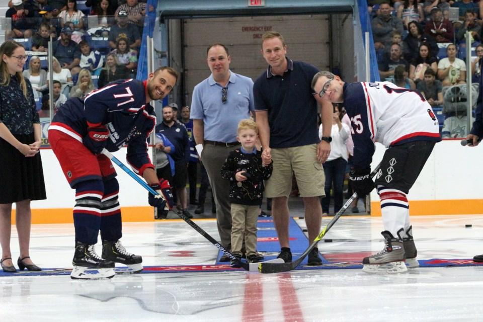 Sudbury Community Arena hosts the fourth annual NHL Vs. Docs in support of the NEO Kids Foundation. (Keira Ferguson/ Sudbury.com)