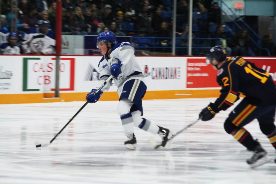 Sudbury Wolves defeat the Barrie Colts 4-2 at the Sudbury Community Arena. (Matt Durnan/ Sudbury.com)