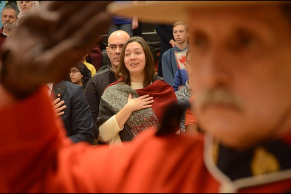Canada's newest citizens were sworn in at a special ceremony on Feb. 28 in Sudbury. (Arron Pickard/Sudbury.com)