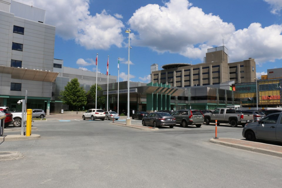 Sudbury's Health Sciences North hospital will soon undergo renovations allowing for the creation of 52 new bed spaces. The project should be completed 2022, said HSN. (Len Gillis/Sudbury.com)