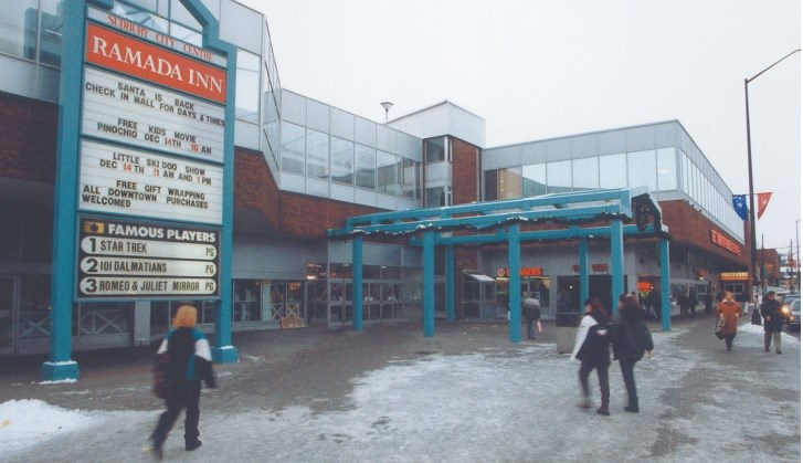 The City Centre Mall as it looked in the 1990s.