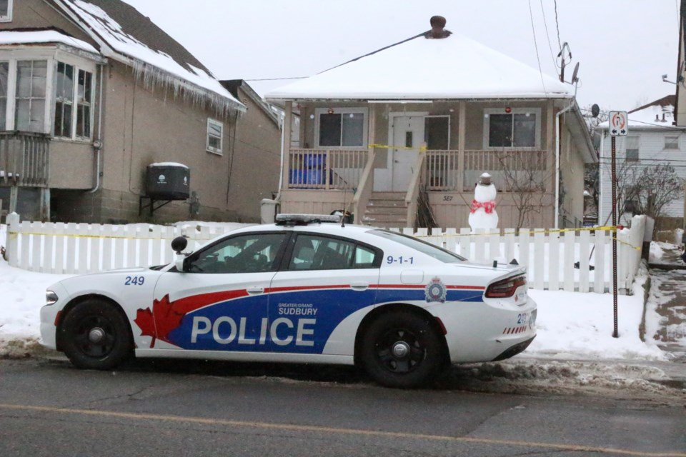 Greater Sudbury Police say a man was murdered Monday evening on Melvin Street. (File)