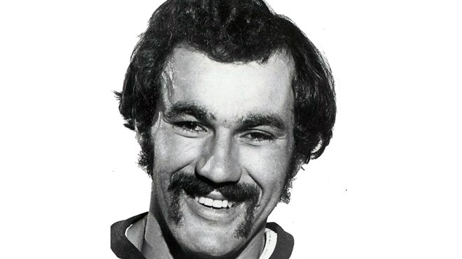 Yvon Labre in 1973, the season before he joined the Washington Capitals when the team was still a newly minted NHL expansion team. (Source: Wikimedia Commons)