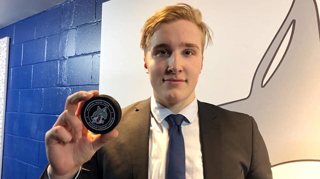 Ukko-Pekka Luukkonen says his decision to leave Finland and come to Sudbury to play in the OHL this year paid huge dividends, and credits his time here with helping him grow as a goalie. (File)