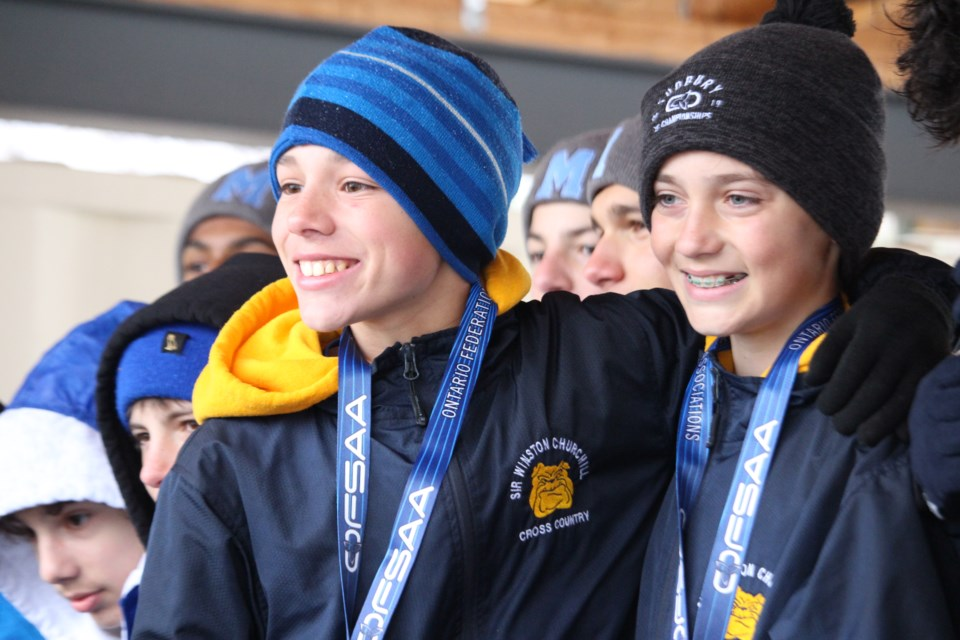 2019 OFSAA Cross Country at Kivi Park. (Keira Ferguson/ Sudbury.com)