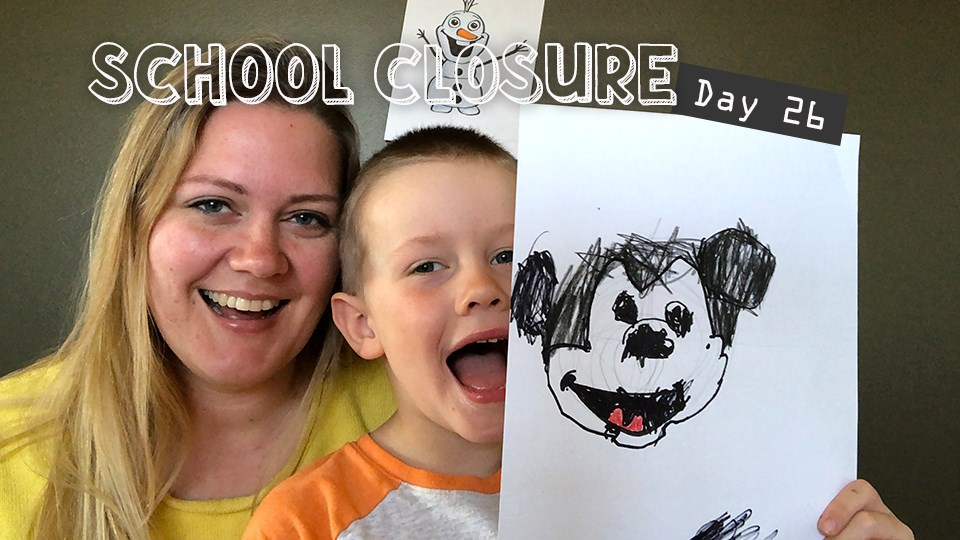 Video Tommy And His Mommy Learn To Draw Disney Characters