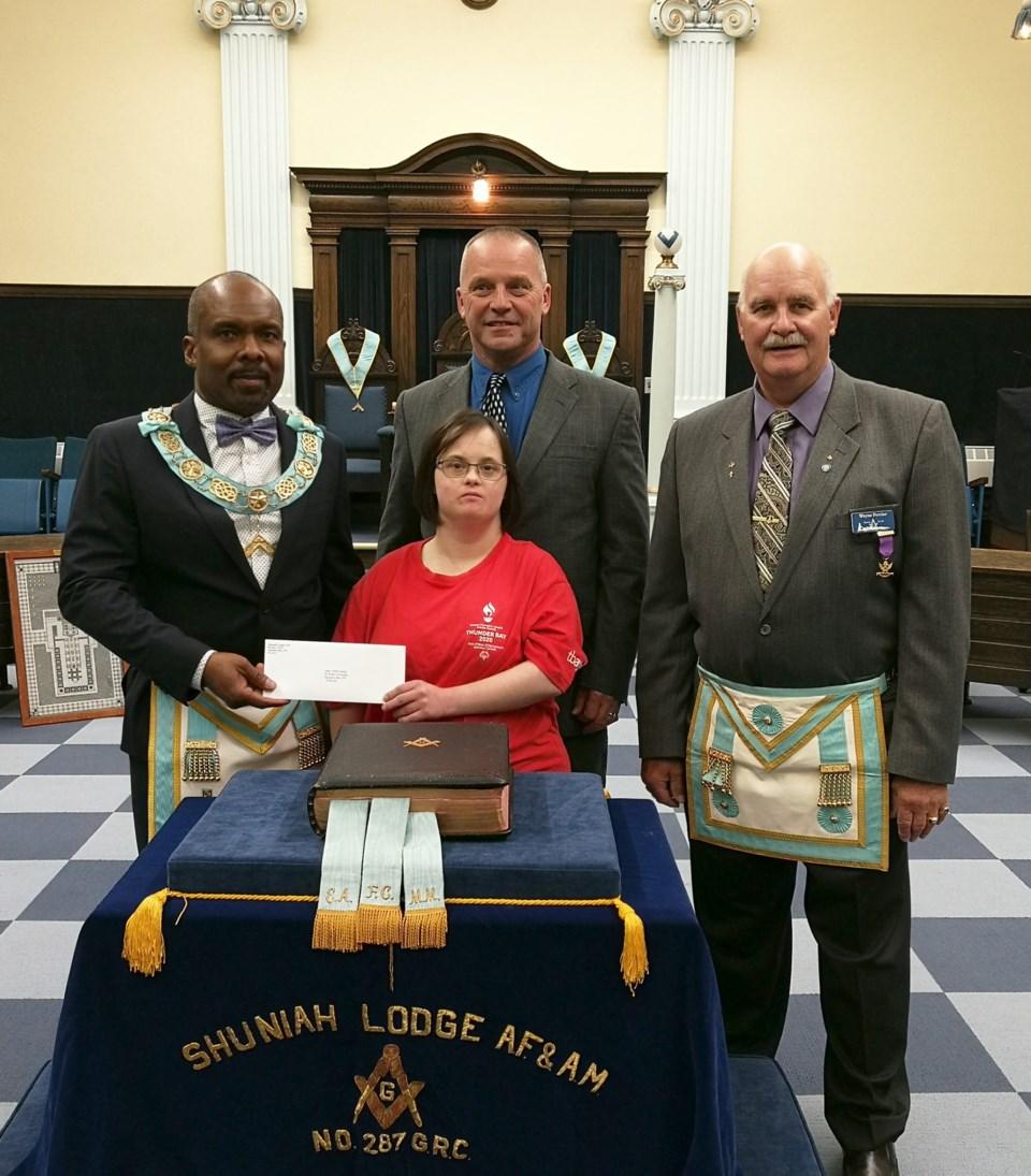 Masons Donation