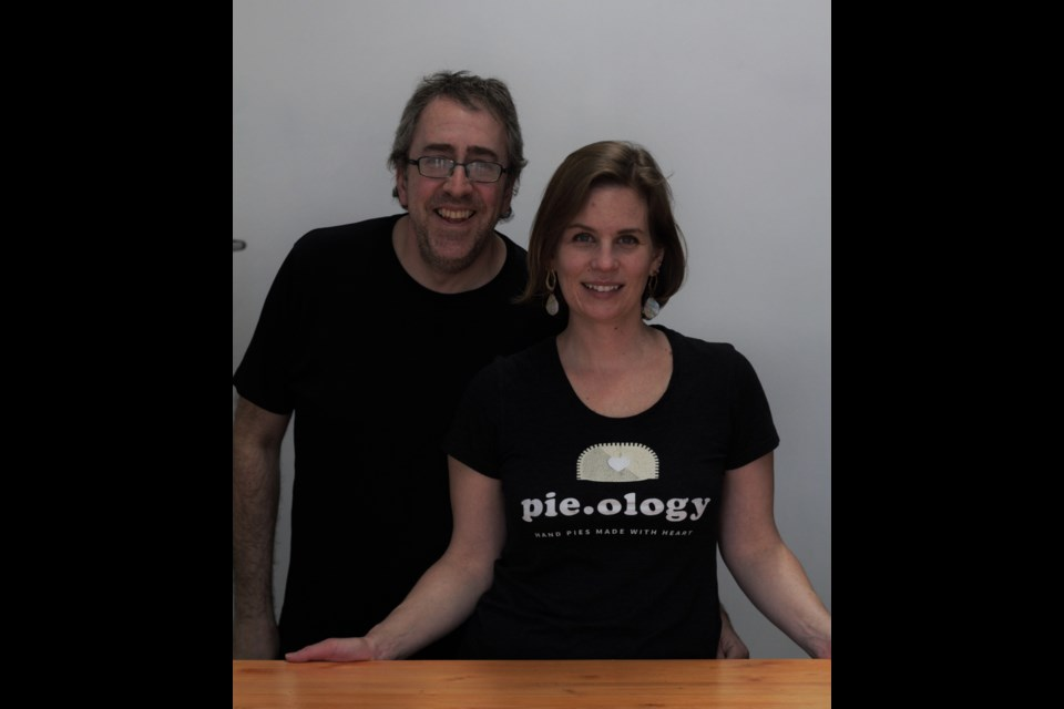 Pie.ology owners Amanda and Malcolm Hope.