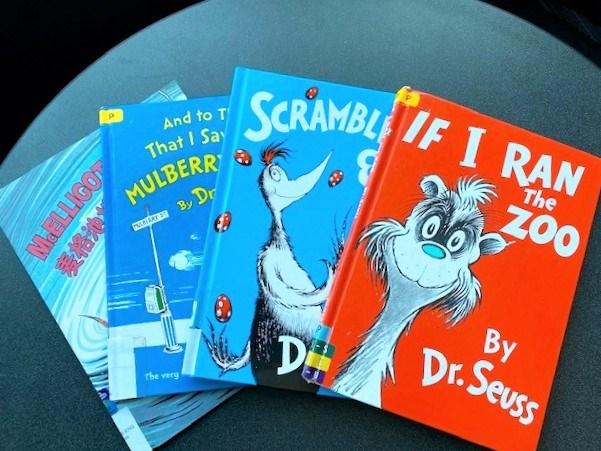 Seuss books bpl
