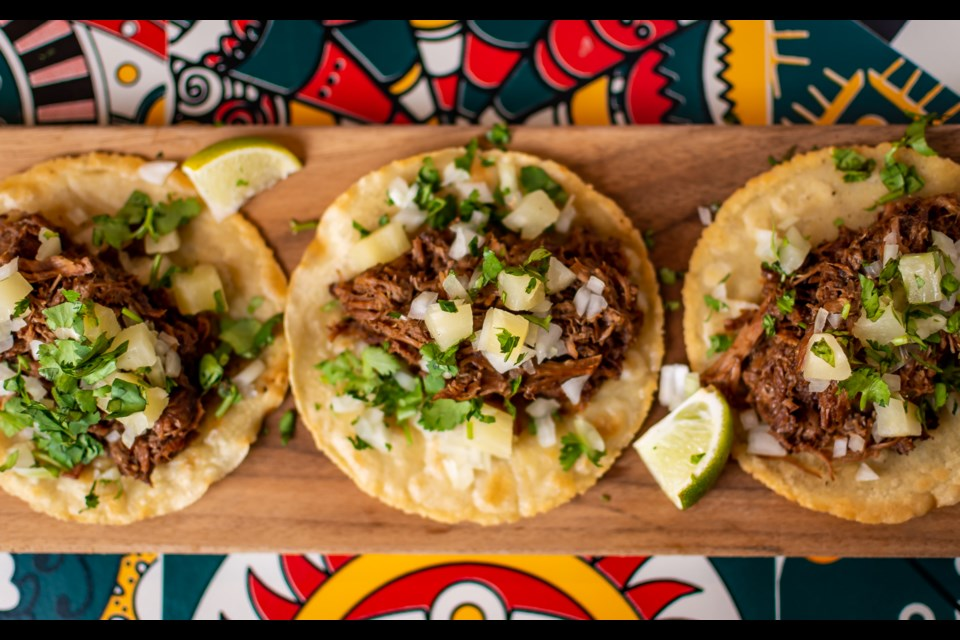 Norteños Taqueria opened on the corner of Brown Street and Frederica Street in October 2020.