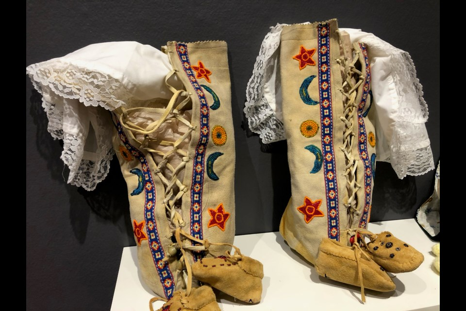 Dakobinaawaswaan (Baby in a Cradleboard) will be open to the public Saturday and Sunday 12 p.m. – 5 p.m.