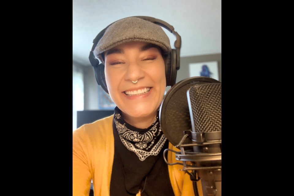 Crystal Hardy's radio show Zee's Place started on CILU 102.7 last September.