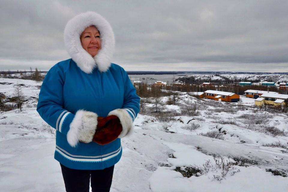 Sheila Watt-Cloutier, from Kuujjuaq, Nunavik.