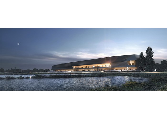 An artist's conception of the new Thunder Bay Art Gallery at Prince Arthur's Landing