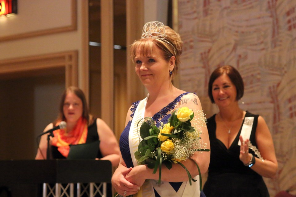 Jennifer Noyes, named the Northwestern Ontario 2016 Queen during a recognition rally in Thunder Bay, achieved her goal of losing 178 pounds over the last 10 years.