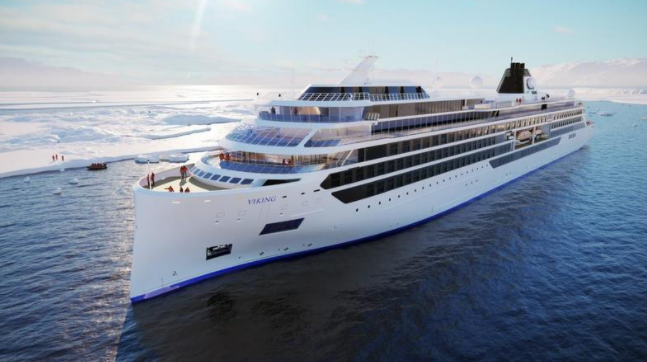 This is a rendering of the Octantis (Viking Cruises)