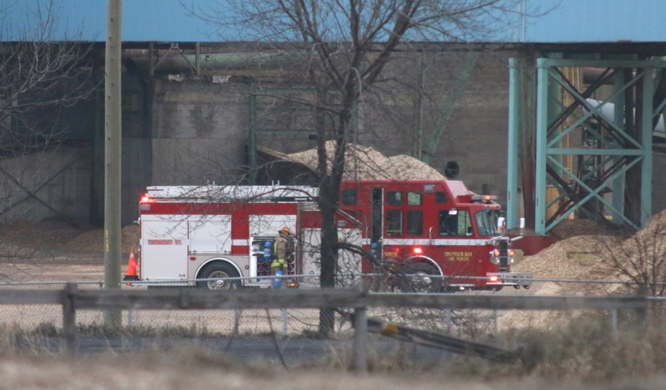 Resolute Paper Mill Fire
