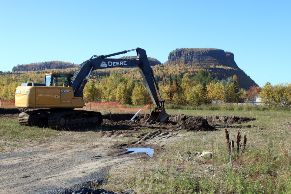 Fort William First Nation leaders say water infrastructure is needed to help expand new housing developments.