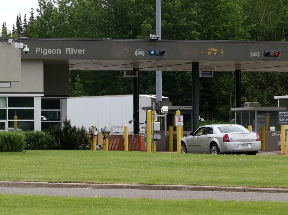 Pigeon River Border