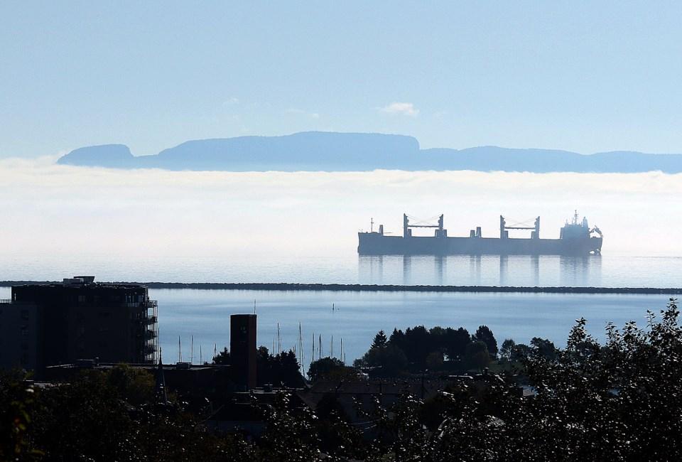 Sleeping Giant Fog Ship