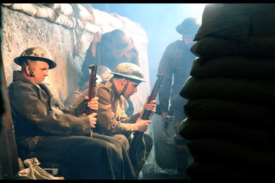 The film, Lakehead at War, focuses on the soldiers on the battlefield, contributions on the home front, and remembering the soldiers lost during the war. (Photos by Doug Diaczuk - Tbnewswatch.com).