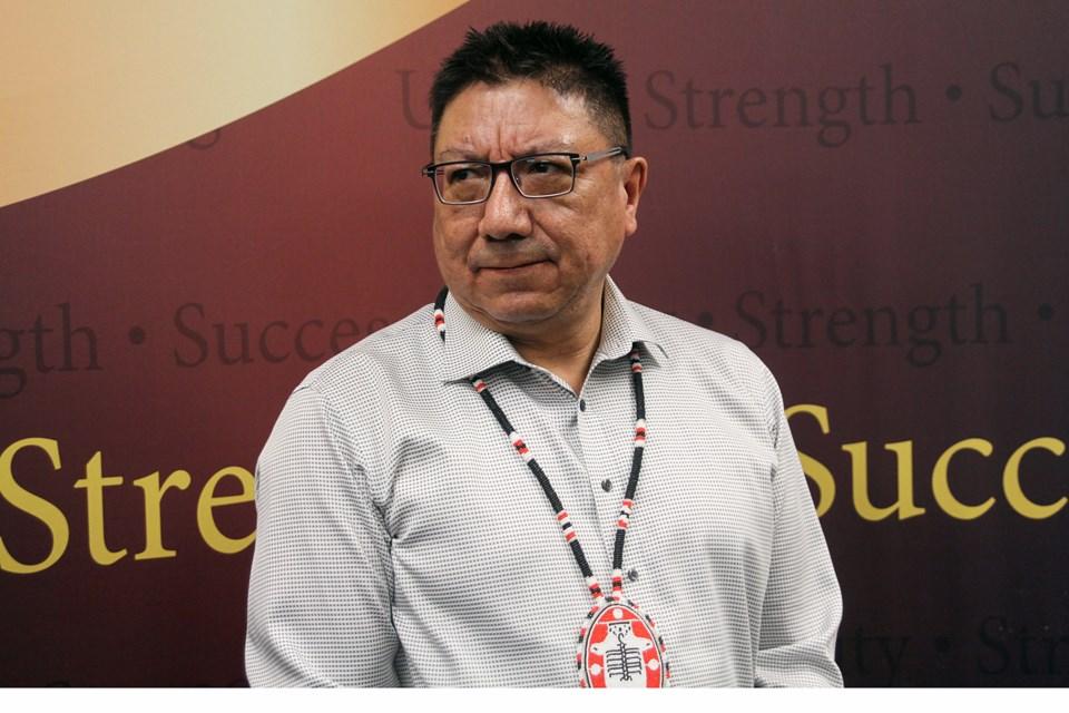 Nishnawbe Aski Nation Grand Chief Alvin Fiddler. (Tbnewswatch file)