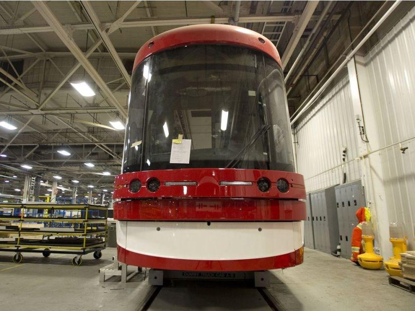 Bombardier TTC streetcar