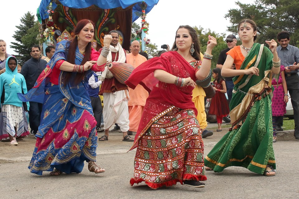 Traditional Indian dance was a highlight of the Festival of India, held on Saturday, July 21, 2018 at Marina Park. (Leith Dunick, tbnewswatch.com)