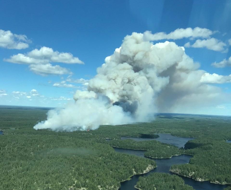 Forest fire Kenora 71 July 2018