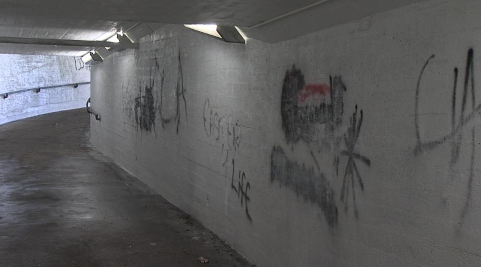 Subway graffiti 3