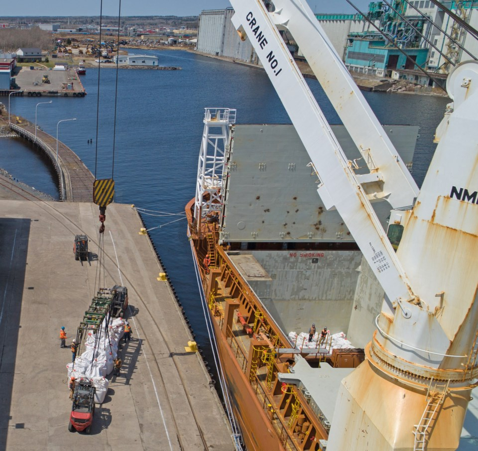 Port of Thunder Bay cargo